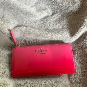 Kate space limited Addition ombré wallet